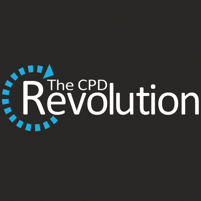The CPD Revolution logo